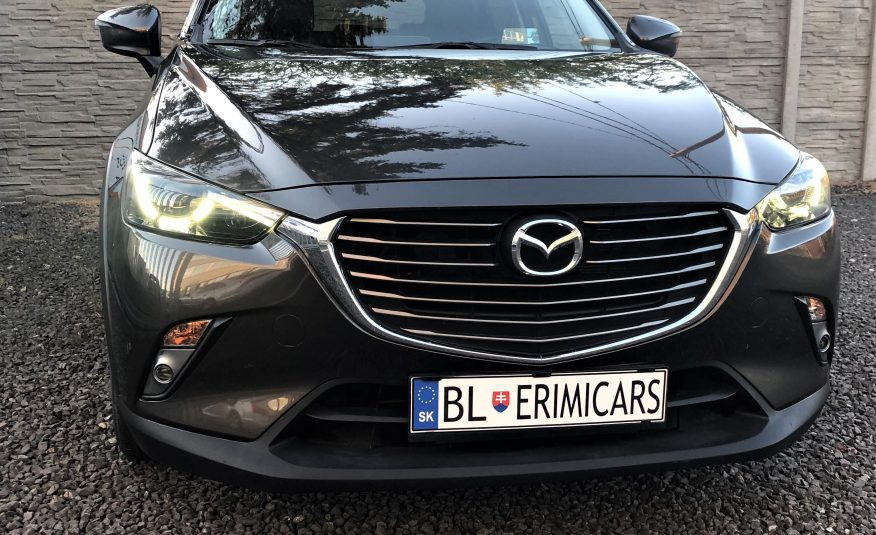 2016 Mazda CX-3 1.5 Skyactiv-D105 Revolution Xenon  Navi Kamera Kožený interiér Head-up display
